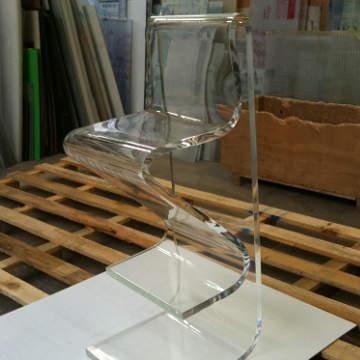 tabouret plexiglass