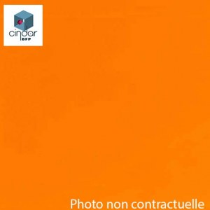 PMMA Coulé Orange Transparent coloré Altuglas ® 10015000 - 3 mm - Prix au m²