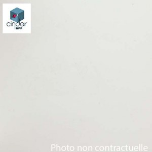 PVC Expansé Blanc 4 mm - Prix au m²