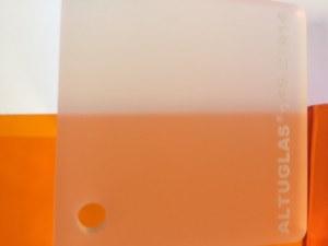 PMMA Coulé Blanc Dual Satin Altuglas ® 145 27014 - 6 mm - Prix au m²