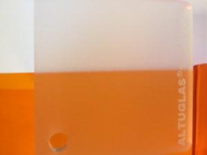 PMMA Coulé Incolore Dual Satin Altuglas ® 145 10000 - 6 mm - Prix au m²