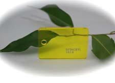 Échantillon Jaune Transparent - 3mm - Setacryl® 1014