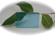 PMMA Coulé Bleu Transparent coloré Setacryl ® 1062 - 3 mm - Prix au m²