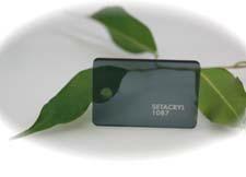 PMMA Coulé Fumé Gris Transparent Coloré Setacryl ® 1087 - 3 mm - Prix au m²
