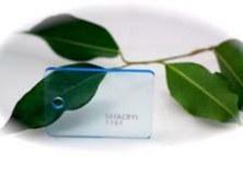 PMMA Coulé Bleu Fluo Transparent Setacryl ® 1161 - 3 mm - Prix au m²