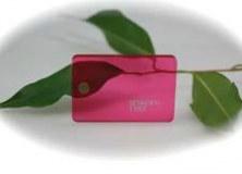 Échantillon Rose Transparent - 3mm - Setacryl® 1232