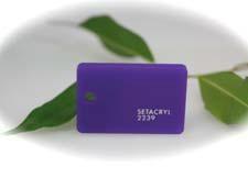 PMMA Coulé Violet Diffusant Setacryl ® 2239 - 3 mm - Prix au m²